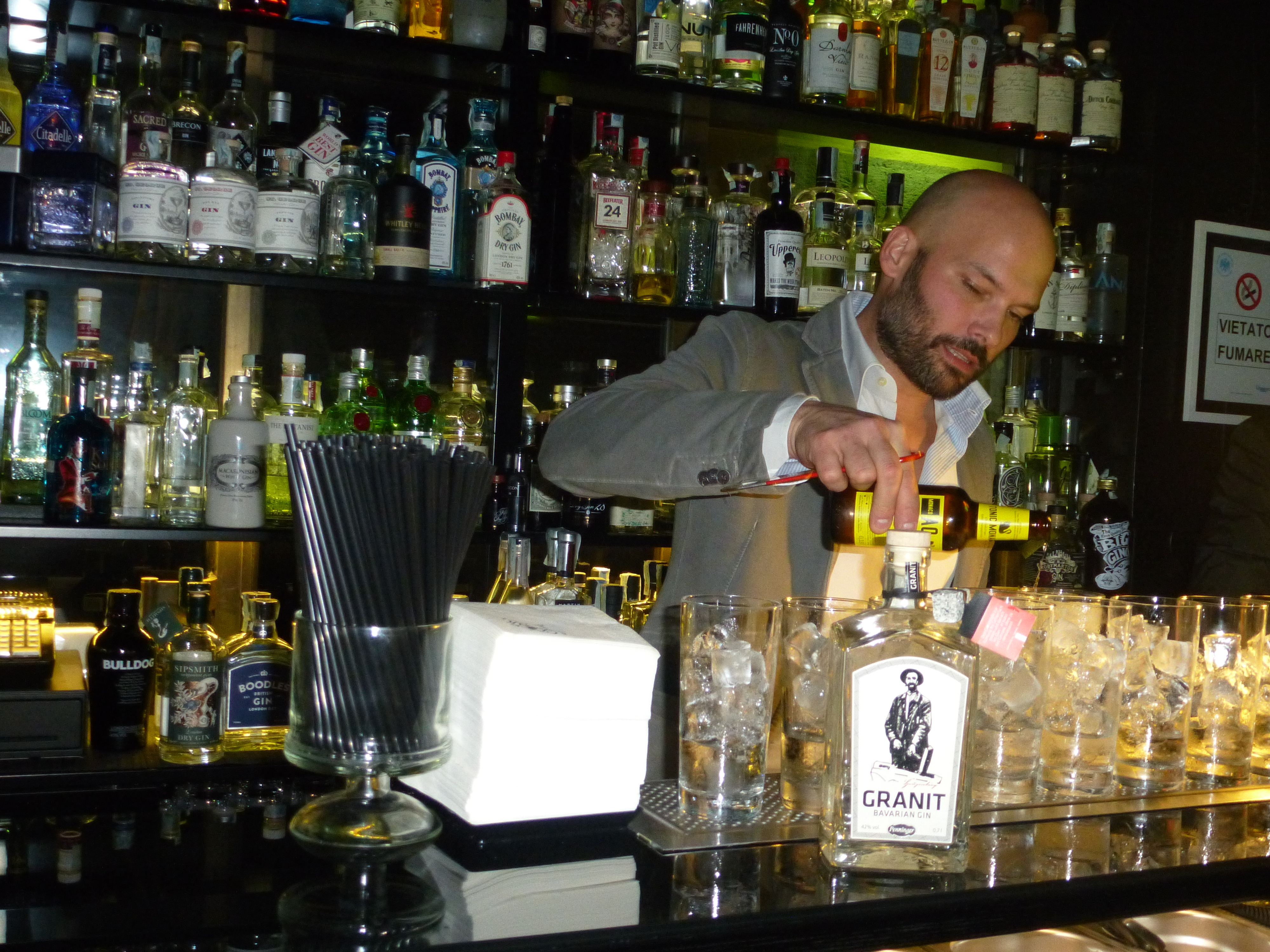 Samuele Ambrosi e Granit Bavarian Gin