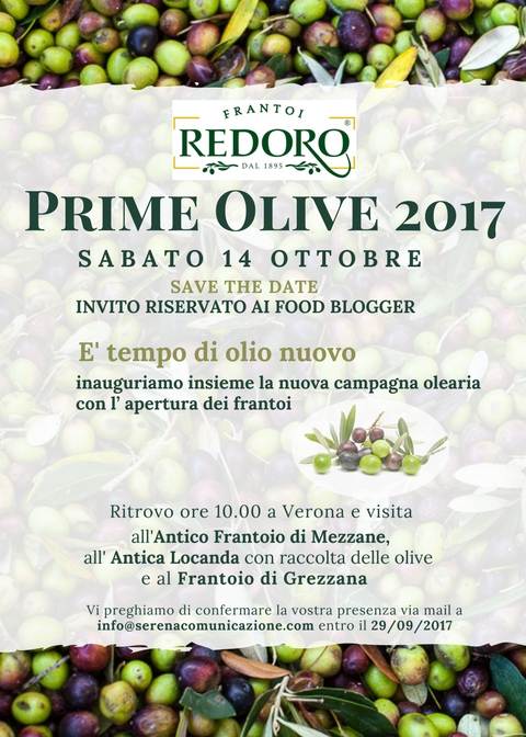 Invito Redoro Prime Olive 2017_foodblogger
